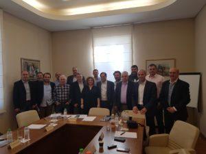 ΔΤ συνάντηση Προέδρων από  τα Σωματεία μέλη της ΟΕΖΕ.
